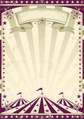 Circus retro style — Stock Vector