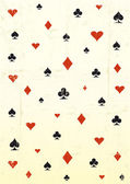 Papel de parede do grunge poker — Vetorial Stock