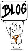 Blog — Stock Vector