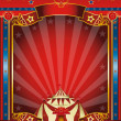 Xmas Fantastic circus. A circus background on christmas theme for you. Enjoy ! — Stock Photo