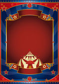 Circus magic red frame — Stock Photo