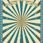Textured blue retro background. — Stock Vector #29933839
