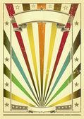 Multicolor vintage paper. — Stock Vector