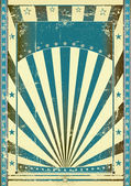 Blue vintage — Stock Vector