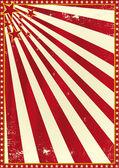 Circus poster — Stock Vector