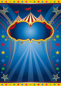 Rainbow circus vintage. — Stock Vector