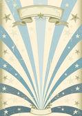 Vintage Blue background — Stock Vector