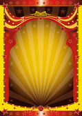 A background for circus event — Stock Vector