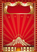 Circus vintage — Stock Vector