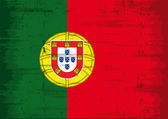Grunge Flag of Portugal — Stock Vector