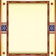 American used frame — Stock Vector #29999723
