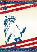 Liberty Statue — Stock Vector