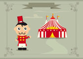The ringmaster — Stock Vector