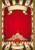 Old circus — Stock Vector