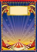 Cirkus reklam — Stockvektor
