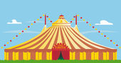 Big top — Stock Vector