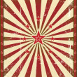 Vintage red star background. — Stock Vector