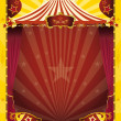 Top circus poster — Stock Vector