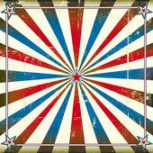 Patriotic square background — Stock Vector