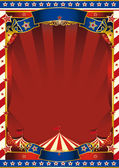 American old striped circus background — Stock Vector