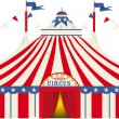 American big top circus — Stock Vector #36409533
