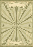 Retro used poster — Stock Vector
