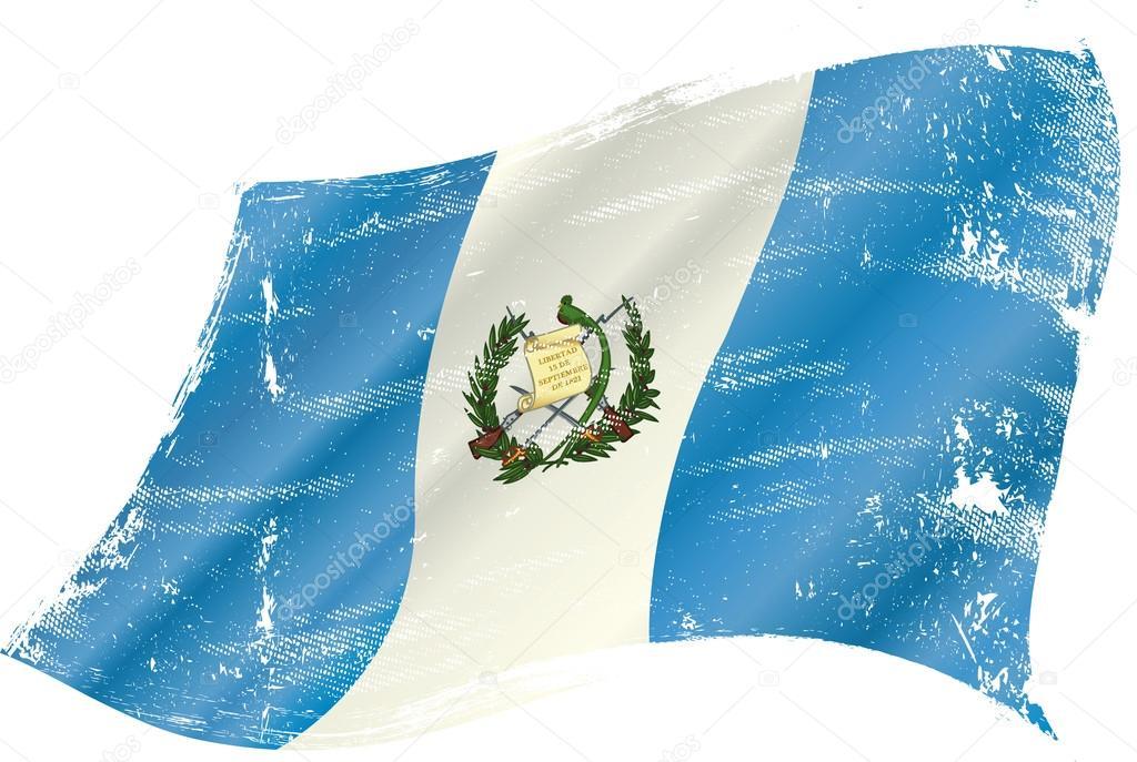guatemala grunge flag by - photo #13