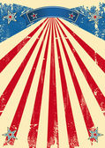Ameryka zarysowane tło — Wektor stockowy