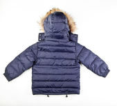 Winter children's jacket — Stock Photo
