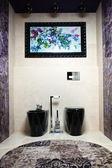 Designer toilet — Stock Photo