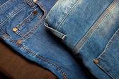 Jeans studio — Stock Photo