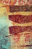 Textuur van de muren — Stockfoto