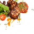 Foto Stock: Gourmet food - steak meat