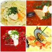 Soup - gourmet food — Zdjęcie stockowe