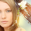 Stock Photo: Spring woman portrait