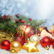 Christmas design background — Foto Stock