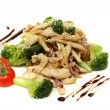 Asian wok — Stock Photo