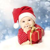 New Year baby — Stock Photo