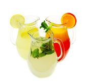 Summer lemonade — Stock Photo