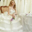 Bride in wedding dress — Stock Photo #36189965