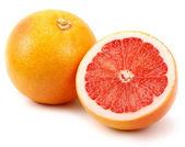Fresh juicy grapefruits — Stock Photo