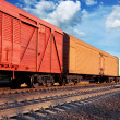 Freight train — Stock Photo #24014429