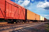 货运列车 — 图库照片