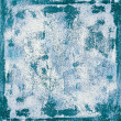 Stock Photo: Grunge texture of rusty blue surface