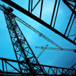 Construction cranes — Stock Photo #41989421