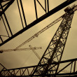 Construction cranes — Stock Photo #41989601