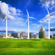 Wind turbines — Stock Photo #41989861
