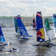 Extreme 40 Sailing series race 2014 in Russia, Saint-Petersburg — Stock Photo #49288225