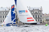 Extreme 40 Sailing series race 2014 in Russia, Saint-Petersburg — 图库照片