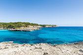Mallorca nationl park Cala Mandrago — Stock Photo
